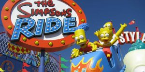 SimpsonsRide-Sign