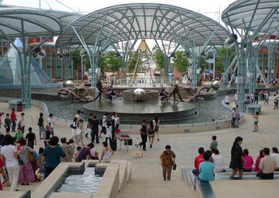 Lake of Dreams at Resorts World Sentosa in Singapore