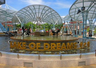 Lake of Dreams at Resorts World Sentosa in Singapore