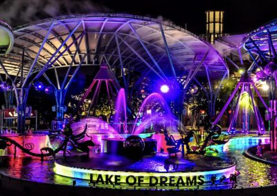Lake of Dreams at Resorts World Sentosa in Singapore comes to life!