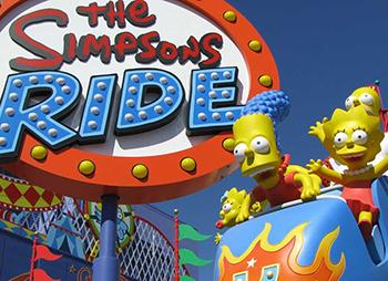 Universal Studios The Simpsons Ride