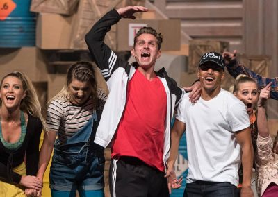 Step Up: All In Cast at Motiongate Dubai.