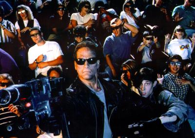 Terminator 2: 3-D Promo Shot