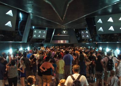Terminator 2: 3-D Queue at Universal Studios.