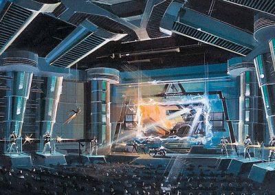 Terminator 2: 3-D Theater Concept