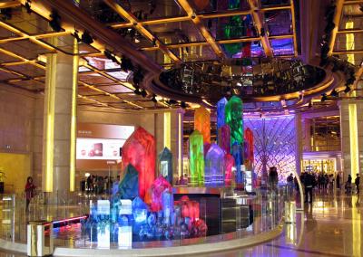 The Wishing Crystals at the Galaxy Casino in Macau China
