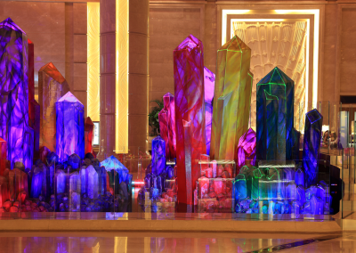 The Wishing Crystals at the Galaxy Casino in Macau China