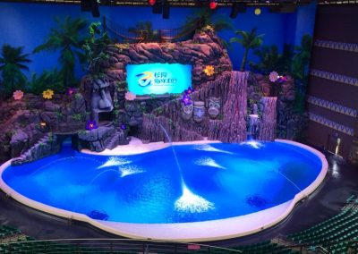 Tropical Heat at Chimelong Ocean Kingdom in Hengqin, Zhuhai, China