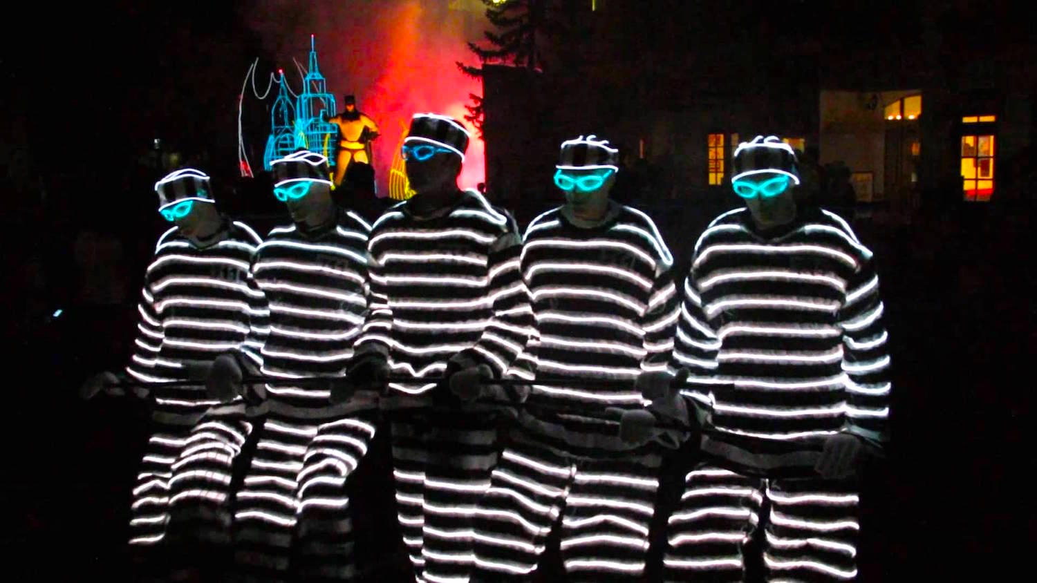 six flags over texas coloring pages - six flags glow in the park parade the producers group