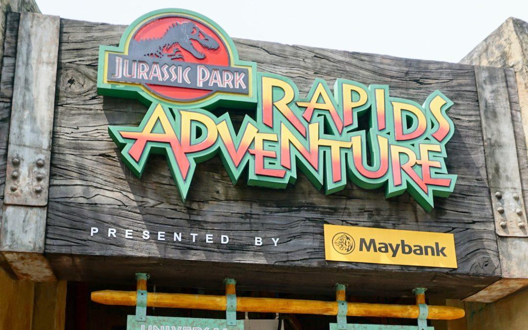 Universal Studios Jurassic Park Rapids Adventure