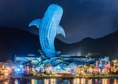 The Lagoon Spectacular at Chimelong Ocean Kingdom in Hengqin, Zhuhai, China