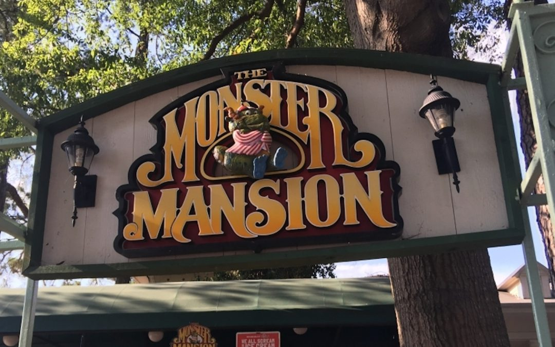 Six Flags Monster Mansion