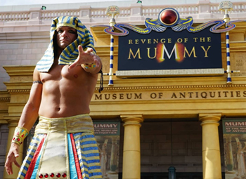 Universal Studios Revenge of the Mummy: The Ride