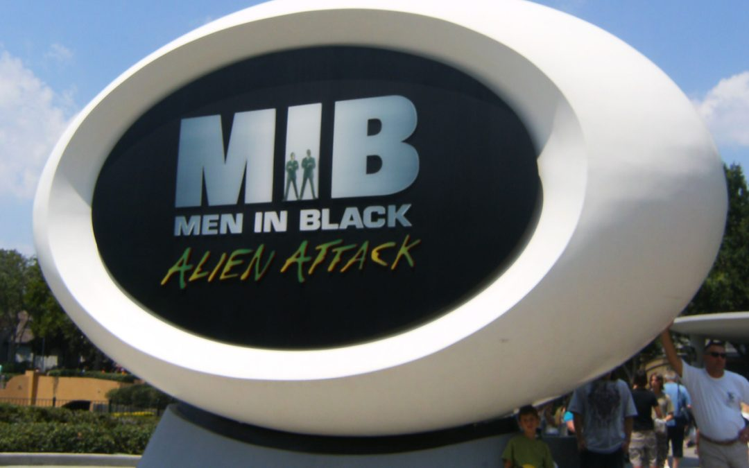 Universal Studios Men in Black: Alien Attack