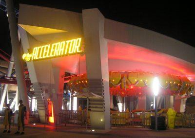 Sci-Fi City at  Universal Studios Singapore