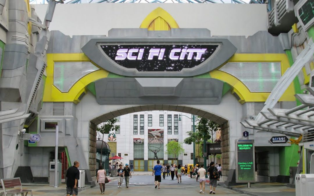 Universal Studios Sci-Fi City