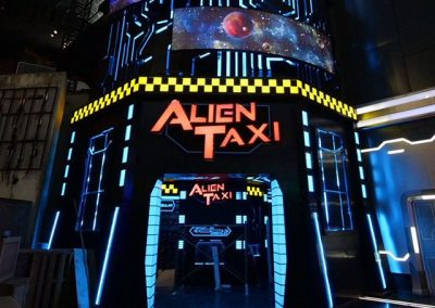 Alien Taxi