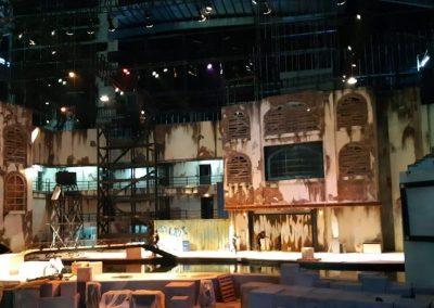 The stage is set (Trans Studio Cibubur)