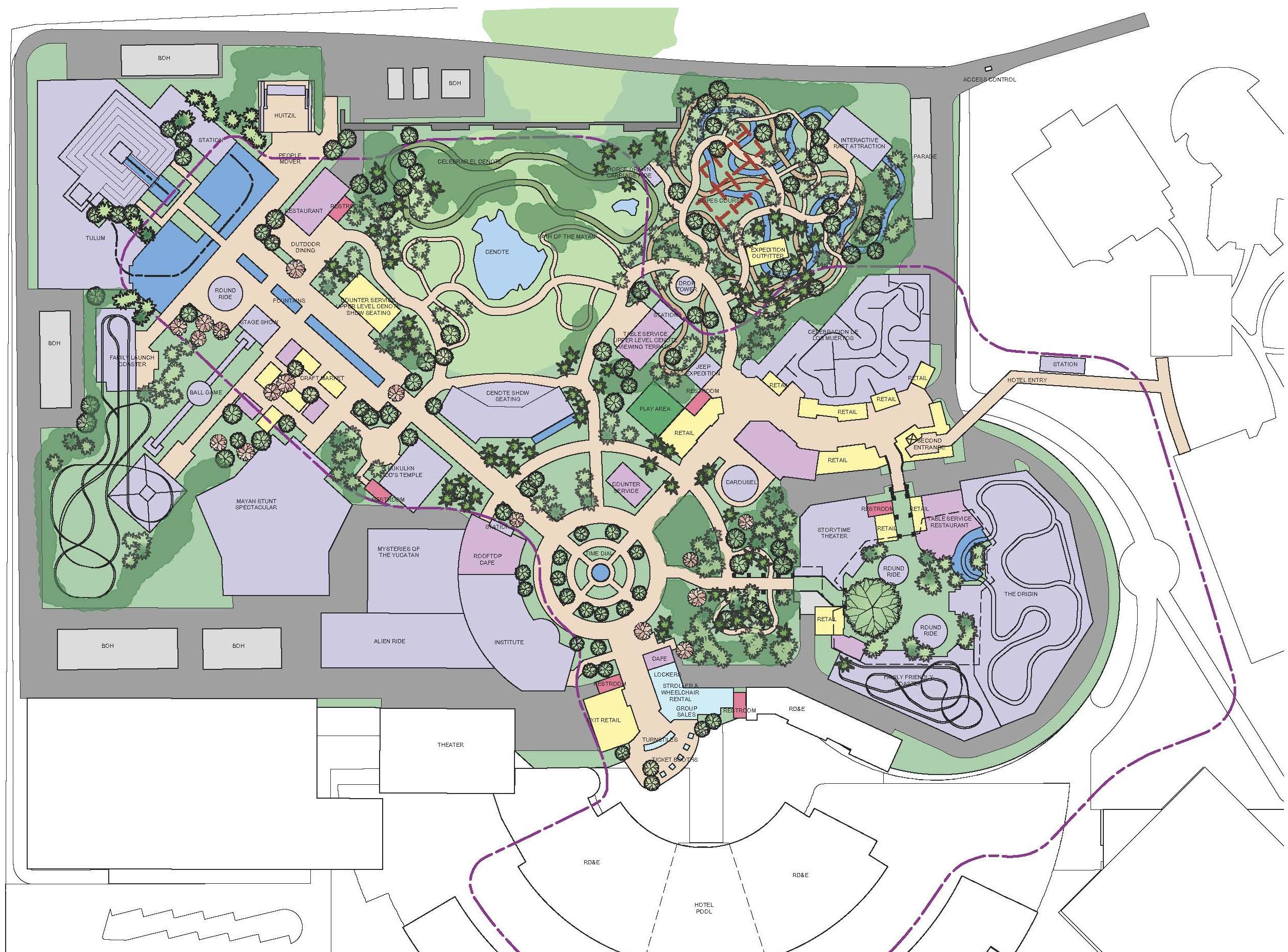 Amikoo_Park-Masterplan Diagram